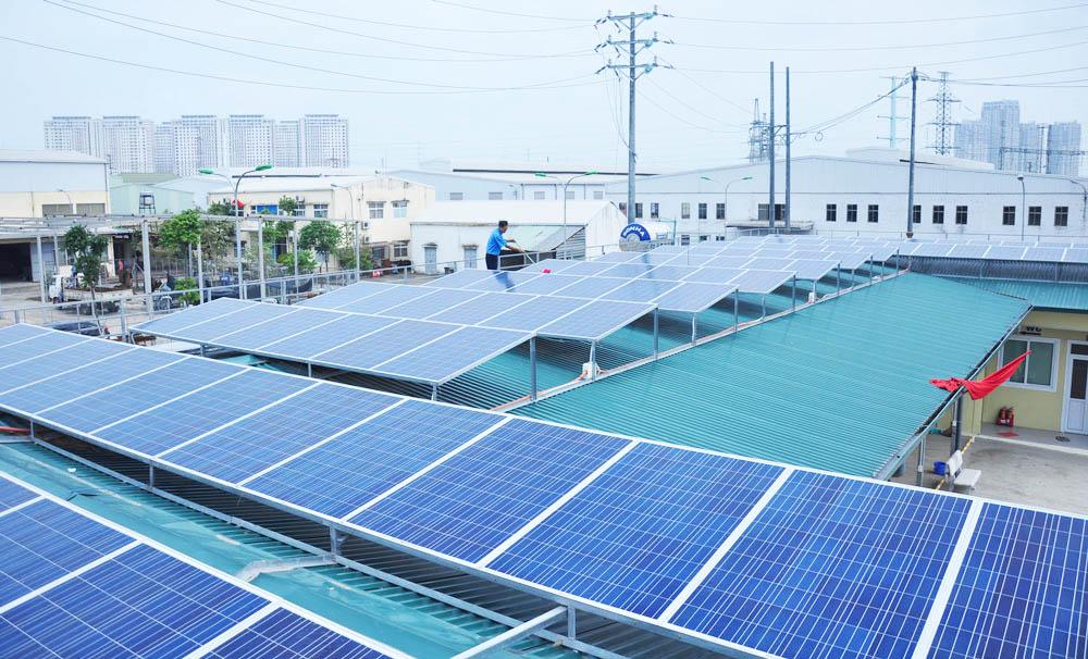 Công ty điện năng lượng mặt trời tại Hà nội