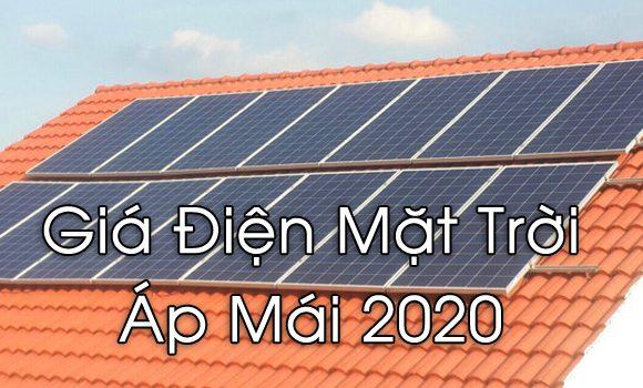 [Update 2020] Bảng Giá Lăp Đặt Điện Mặt Trời Tp. Hồ Chí Minh