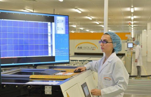 AE Solar dùng chip NFC chống giả mạo thương hiệu