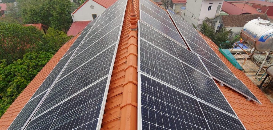 Dự án Điện mặt trời ở quận 3 SG – Hệ 10kw