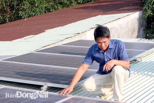 Sài Gòn Lắp đặt điện mặt trời trong dân tăng mạnh